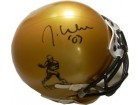Jason White signed Heisman Logo Gold Authentic Schutt Mini Helmet '03 (Oklahoma Sooners)