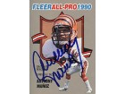 Anthony Munoz Autographed 1990 Fleer All-Pro Card #8 of 25 - Cincinnati Bengals