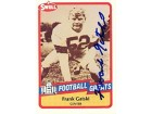 Frank Gatski Autographed 1989 Swell Football Great Card #130 - Cleveland Browns