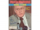"Bowie Kuhn Autographed Sports Illustrated Magazine Cover ""To John"" PSA/DNA #S39023"