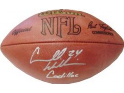 "Carnell Williams signed Official NFL Tagliabue Football ""Cadillac"" (Tampa Bay Buccaneers)"