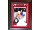 Gordie Howe HOF 1972 Autographed / Signed Framed Puck w/ Unsigned 8x10 Shadowbox