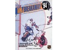 Mark Fitzpatrick Autographed / Signed NHL Breakaway 1994 Hockey Magazine