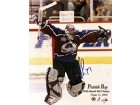 Patrick Roy NHL Autographed / Signed 8x10 Colorado Avalanche Record 448 Victories Photo