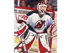 Martin Brodeur Autographed / Signed 8x10 Photo Standing in the Net