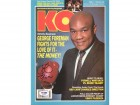 George Foreman Autographed Magazine Cover PSA/DNA #S42321