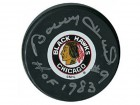 Bobby Hull Autographed/Signed 'HOF' Puck
