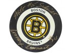 Milt Schmidt & Woody Dumart Autographed / Signed Boston Bruins Hockey Puck
