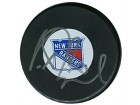 Vaclav Prospal Autographed/Signed Rangers Hockey Puck