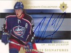 Rick Nash 2006 Upper Deck Ultimate Signatures Card