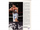 Julio Cesar Chavez Autographed Magazine Page Photo PSA/DNA #S47379