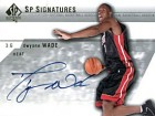 Dwyane Wade Autographed / Signed 2004 Upper Deck Sp Card