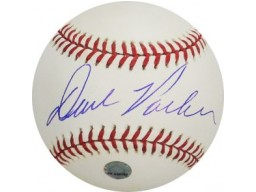 Dave Parker signed Official Major League Baseball- MLB Hologram