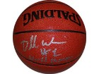 Dorell Wright Autographed/Signed Basketball WORLD CHAMPS Indoor/Outdoor