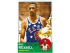 Bill Russell Autographed / Signed Topps BR63 Card