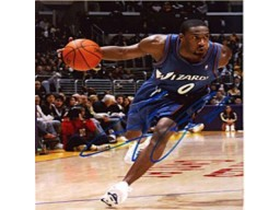 Gilbert Arenas Autographed / Signed 8x10 Photo-Washington Wizards