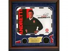 Mario Andretti Autographed / Signed Framed 8x10 Photo