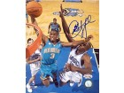 Chris Paul Autographed / Signed Dunk Against Dwight Howard 8x10 Photo