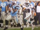 Deangelo Williams signed Carolina Panthers 16x20 Photo 98 YD TD 8-24-06 LTD