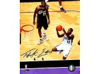 Tyreke Evans Autographed / Signed Vs. LeBron James 16x20 Photo