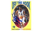Tracy McGrady Autographed / Signed 2001 Topps OH9 Basketball Card