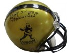 Billy Sims signed Heisman Mini Helmet 78 Heisman (Oklahoma Sooners)