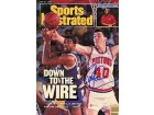 Bill Laimbeer Autographed / Signed Sports Illustrated - June 27 1988