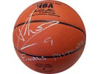 Tony Parker Finals MVP 07 Autographed / Signed Leather Basketball