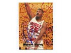 Robert Horry Autographed/Signed 1995 Fleer Card