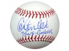 "Carlton Fisk Autographed Official MLB Baseball Boston Red Sox ""75WS - GM6 HR"" PSA/DNA Stock #28155"