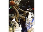 DeJuan Blair Autographed / Signed Going for the Ball 8x10 Photo