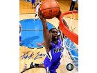Tyreke Evans Autographed / Signed Slam Dunk 16x20 Photo