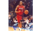 Mario Chalmers Autographed / Signed 8x10 Miami Heat Photo