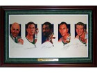 Celtics Legends Autographed / Signed 24x40 Lithograph