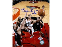Brandon Roy '07 ROY Signed 8x10 Photo