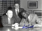 Bill Russell Contract Signing Autographed / Signed 8x10 Photo