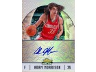 Adam Morrison Autographed / Signed 2007 Topps Finest Rookie Card