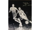 Hal Greer HOF '81 NBA 50 Autographed / Signed Black & White 16x20 Photo