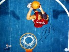 Dwyane Wade Autographed / Signed Overhead Dunk 16x20 Photo