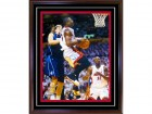 Dwyane Wade Final MVP Autographed / Signed Framed Game 4 Lay Up 16x20 Photo