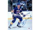 Bernie Federko Autographed 8x10 Photo Blues PSA/DNA #L48421