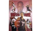 Dwyane Wade Flash Autographed / Signed Photo Over-Sized Framed Artwork