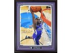 Tyreke Evans Autographed / Signed Framed Slam Dunk 16x20 Photo