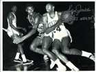 Sam Jones HOF 83 NBA 50 Autographed / Signed Driving 8x10 Photo