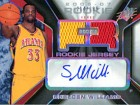 Shelden Williams Autographed / Signed 2006-2007 Upper Deck SPX Card