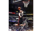 Michael Beasley Autographed / Signed 16x20 About to Dunk Photo