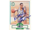Dennis Johnson Boston Celtics Autographed / Signed 1990 Fleer Card #9