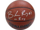 Brandon Roy 07 ROY Autographed / Signed Portland Trail Blazers Indoor / Outdoor Basketball