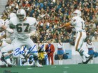 Bob Kuechenberg signed Miami Dolphins 8x10 Photo 17-0