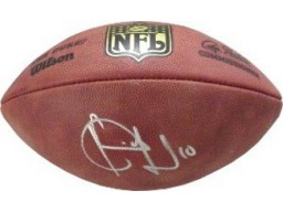 Vince Young signed Official NFL Duke Football #10- Silver sig (Tennessee Titans)